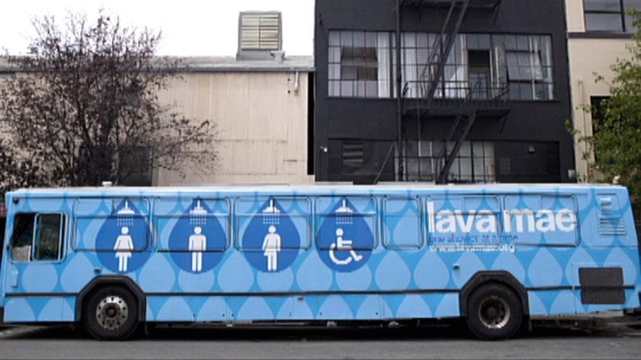 San Francisco startup provides mobile showers for homeless