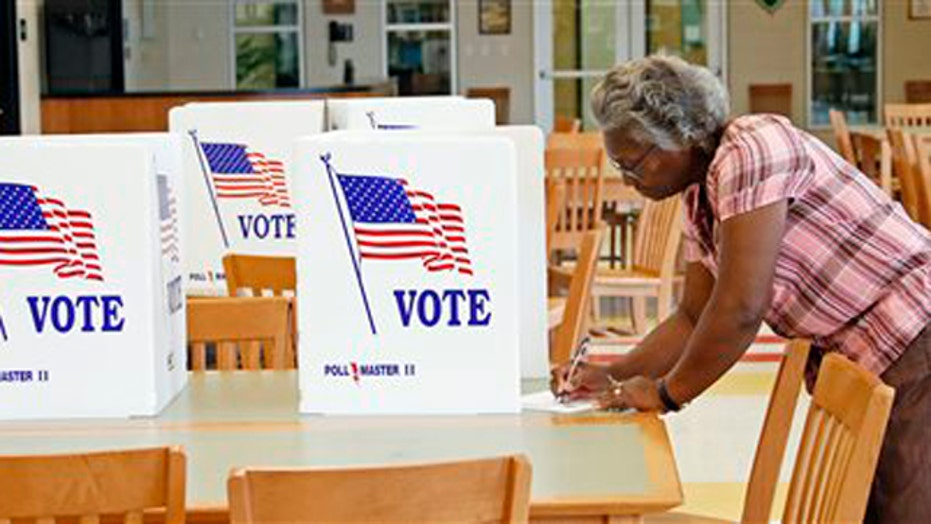Primary election voters go to polls amid political surprises
