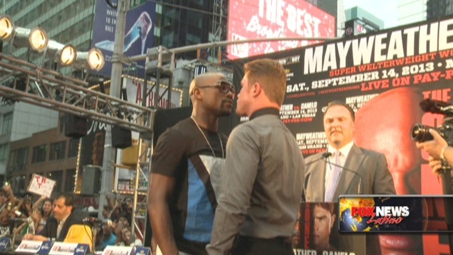 The Mayweather Vs. Canelo Media Circus Begins