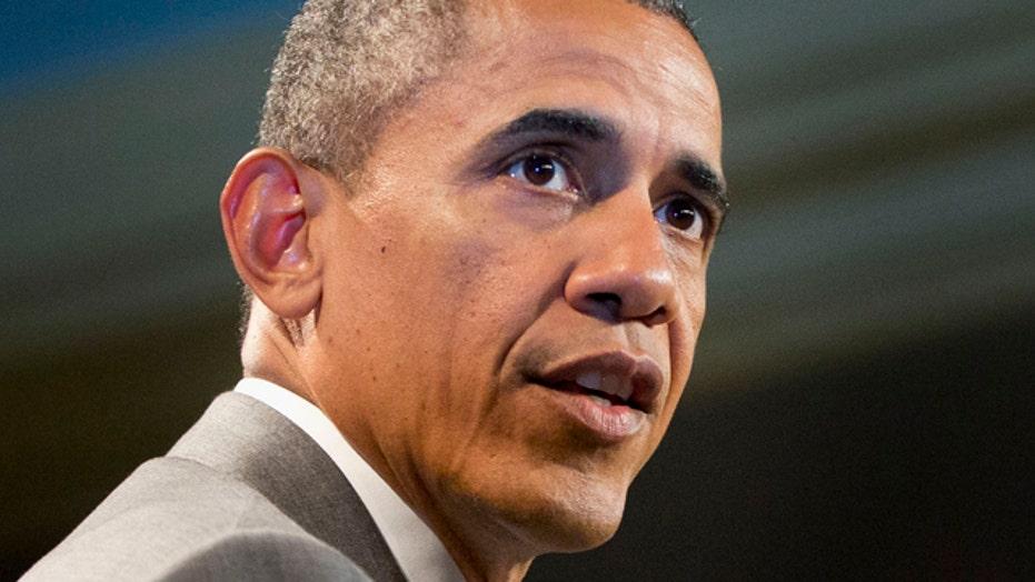 White House blaming ObamaCare for shrinking US economy?
