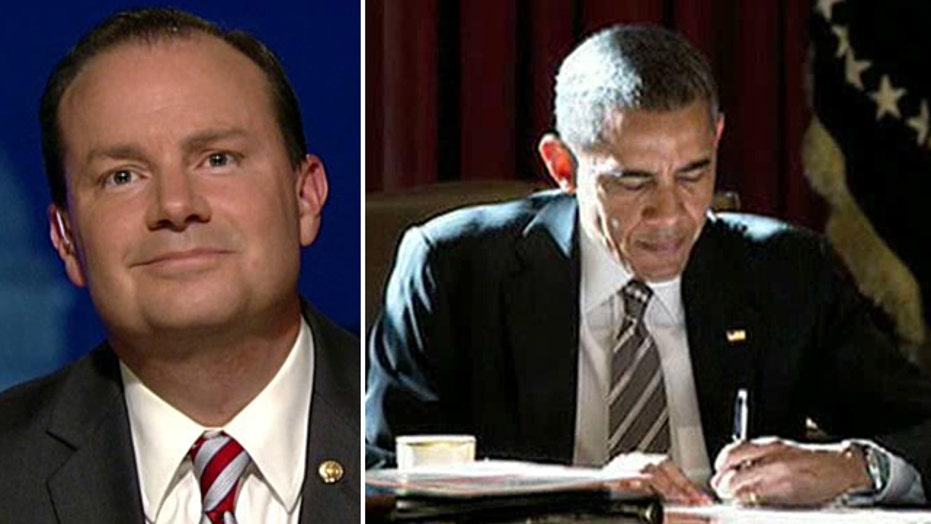Sen. Mike Lee: 'Ours is not a government of one'