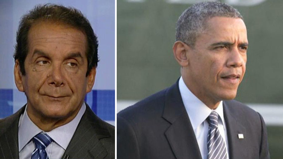 Krauthammer on power failure for Obama's power grab