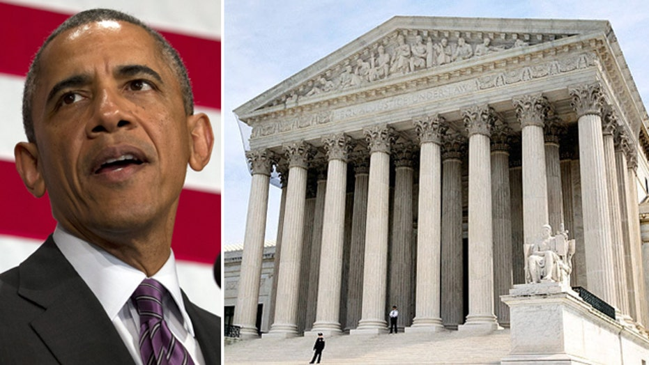 Supremes unanimously bring Obama back to Earth