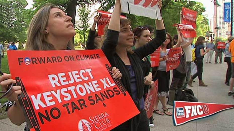 Controversy Over Keystone XL Oil Pipeline