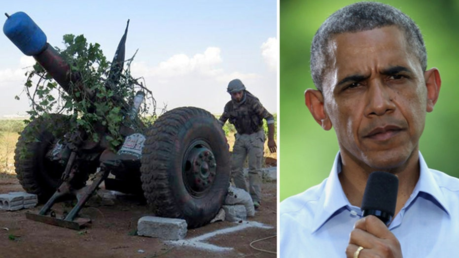 Obama requests $500M to train, equip Syrian rebels