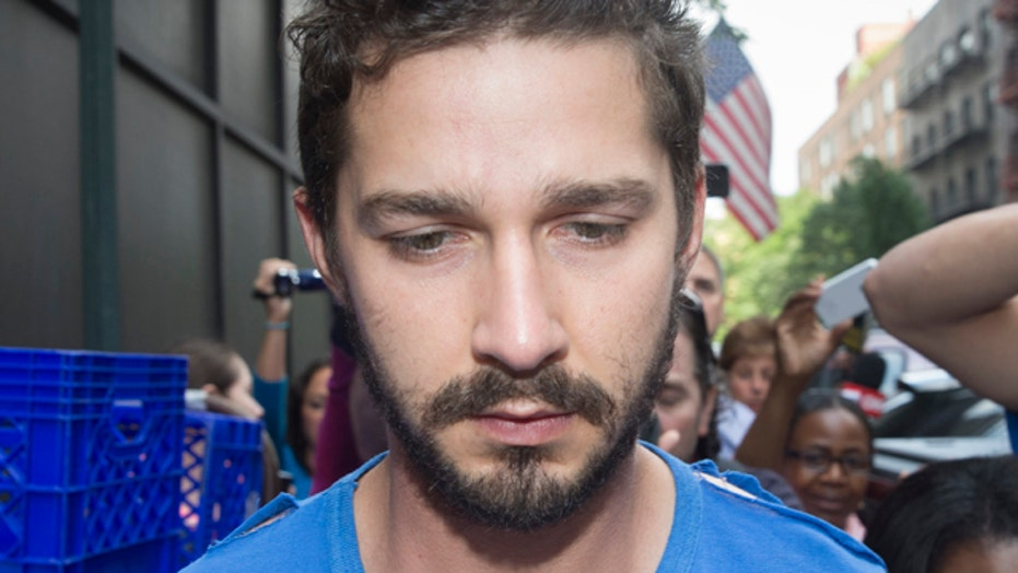 Shia 'La'Busted: Actor arrested at Broadway show