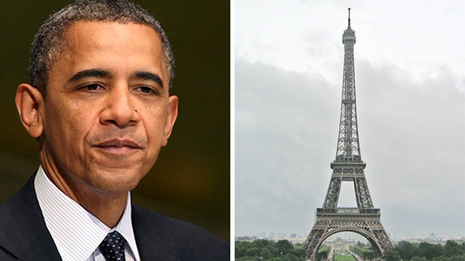Obama sees France as standard for workplace benefits