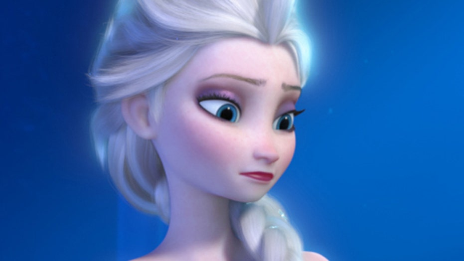 Elsa becomes most popular baby name after 'Frozen'