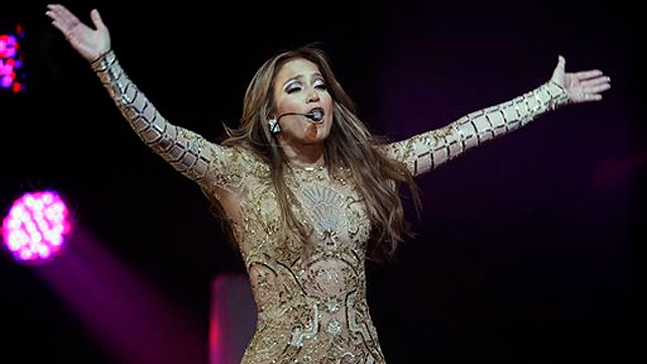 Jennifer Lopez makes a birthday blunder