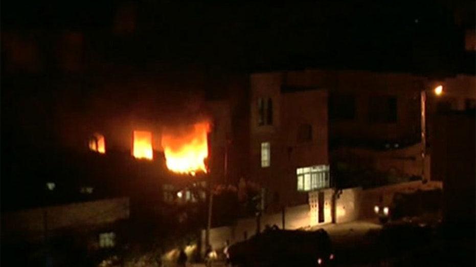 Israel attacks Hamas in retaliation for slain teens