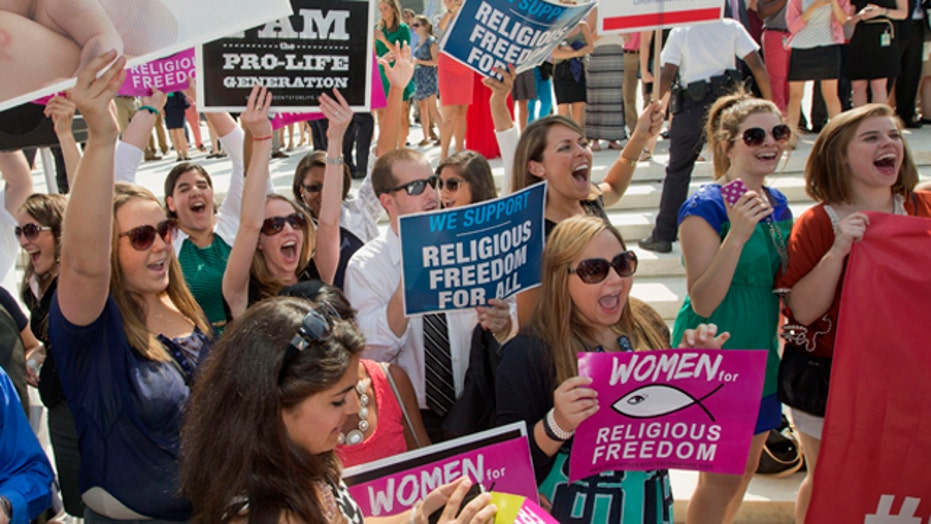Hobby Lobby supporters: High court decision a win for women