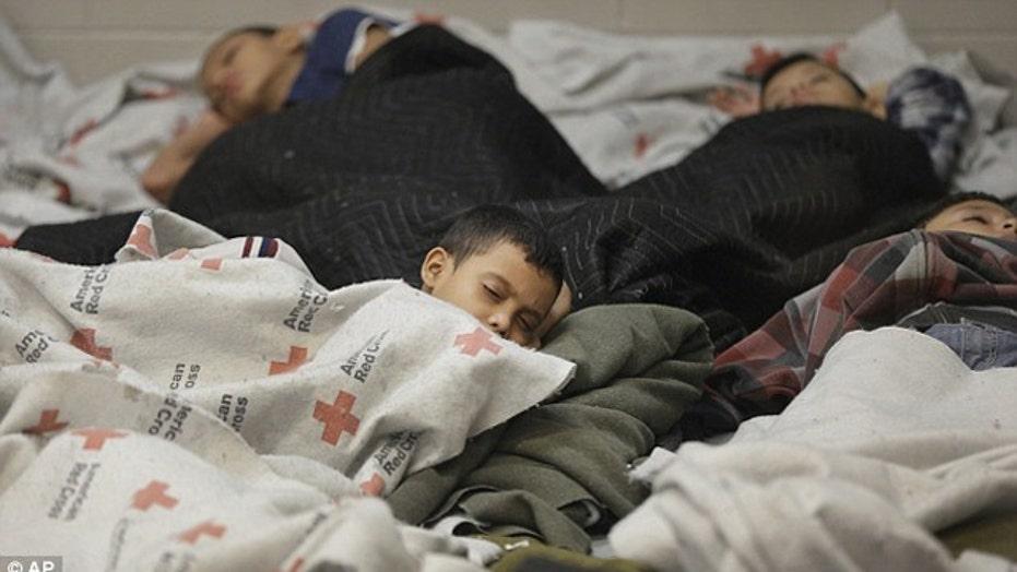 Influx of children leaving border vulnerable?