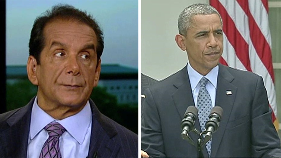 Krauthammer: 'Obama doesn't know how to govern'