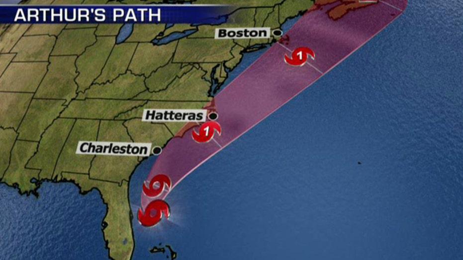 Holiday storm a 'potential nightmare scenario' for Carolinas