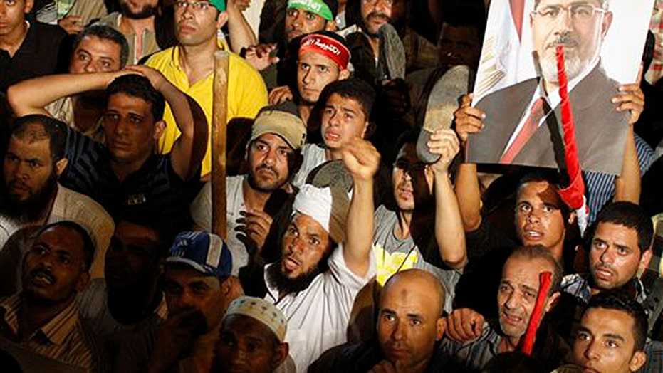 Massive celebration in Egypt after military coup