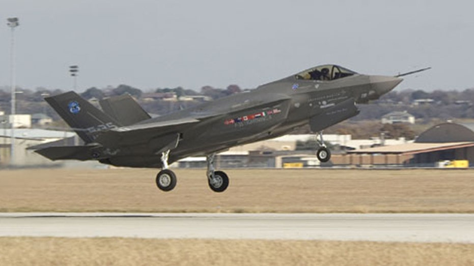 All F-35 fighter jets grounded for runway fire investigation