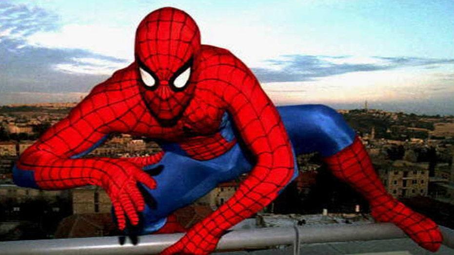 Real Life 'Spiderman'