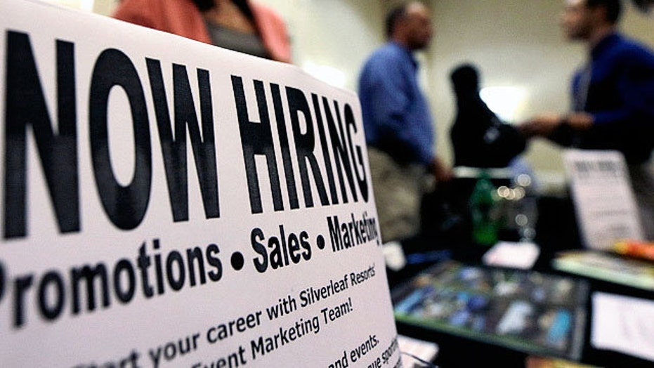 Strong jobs report sparks debate over jobless benefits