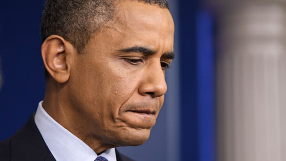 Cruel summer: Poll numbers sink as Obama faces setbacks