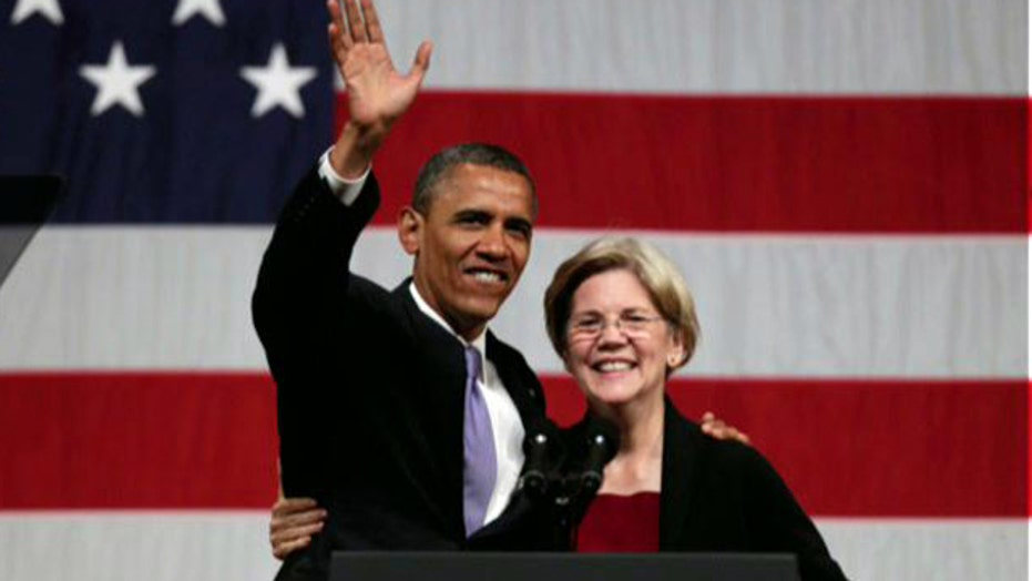 Why Obama may be secretly backing Sen. Warren for 2016