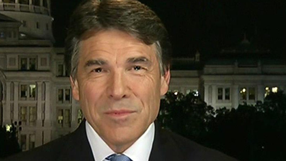 Gov. Perry on not seeking re-election, ObamaCare chaos