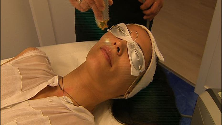 High-tech facial uses lasers
