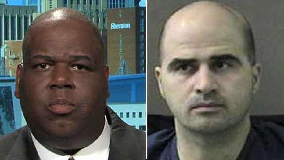 Fort Hood survivor reacts to start of trial, scolds Holder