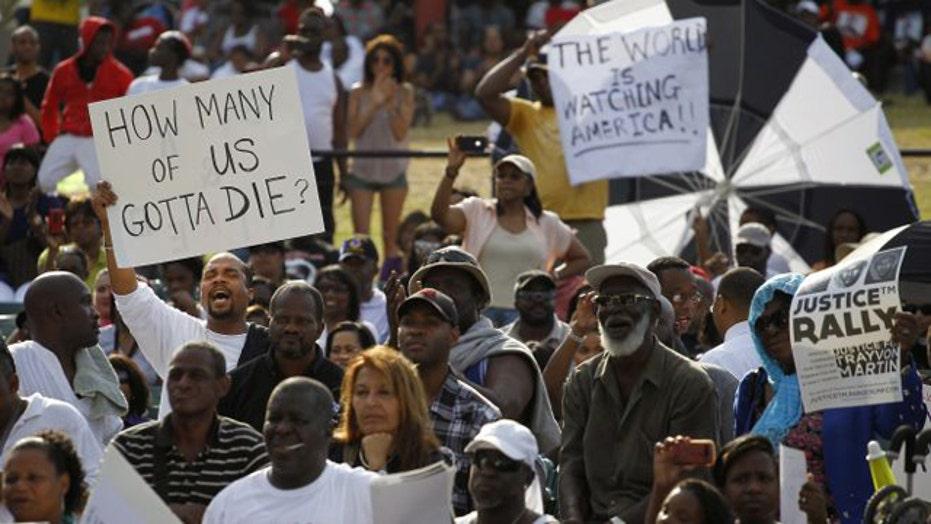 Did the DOJ help organize anti-Zimmerman rallies?