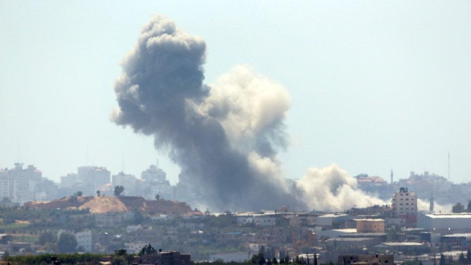 Israel escalates air offensive in Gaza