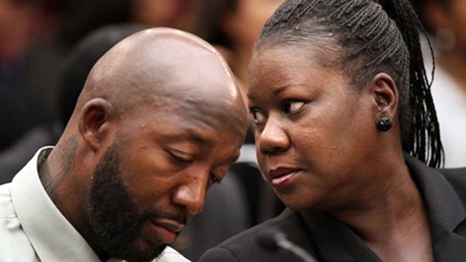 Trayvon Martin's family hold its breath