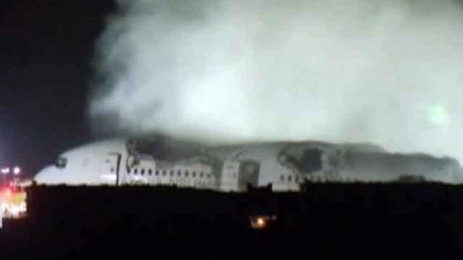 Confirmed: Asiana crash victim hit by fire truck