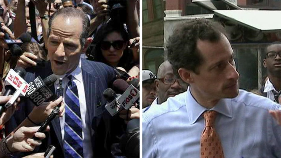 Why are voters giving Weiner, Spitzer a second chance?