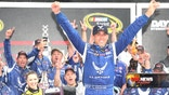 For NASCAR driver Aric Almirola, winning at Daytona was a childhood dream come true.