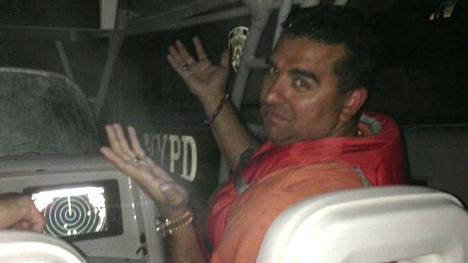 'Cake Boss' recalls rescue from stranded boat
