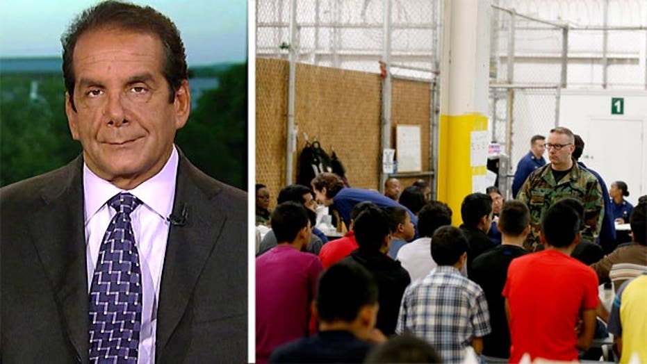 Krauthammer: 'Importing the problem.. is unacceptable'