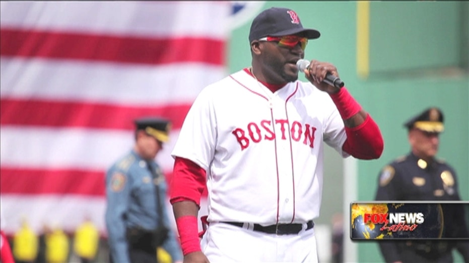 David Ortiz talks about PEDs and a new documentary