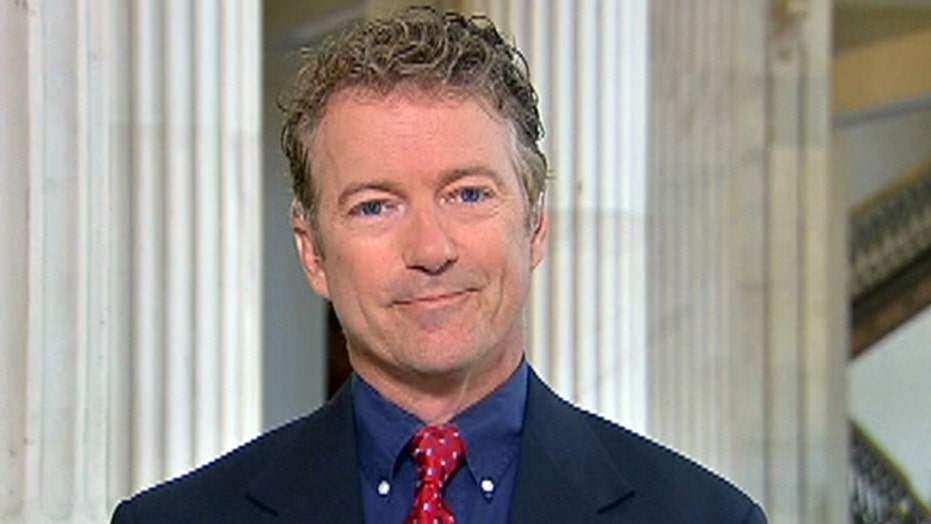 Rand Paul on Gov. Perry's 'unfair' foreign policy criticism