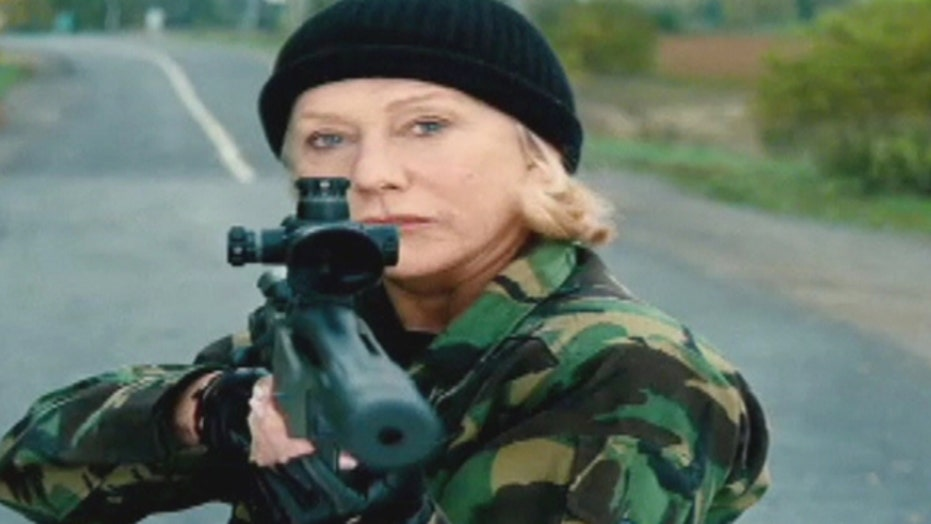 Helen Mirren, action hero