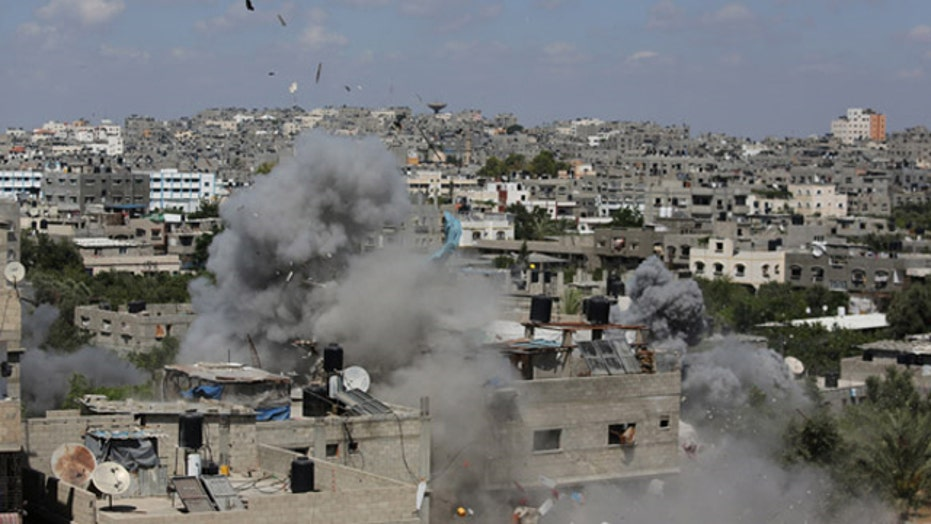 Israeli airstrikes intensify after Hamas rejects ceasefire