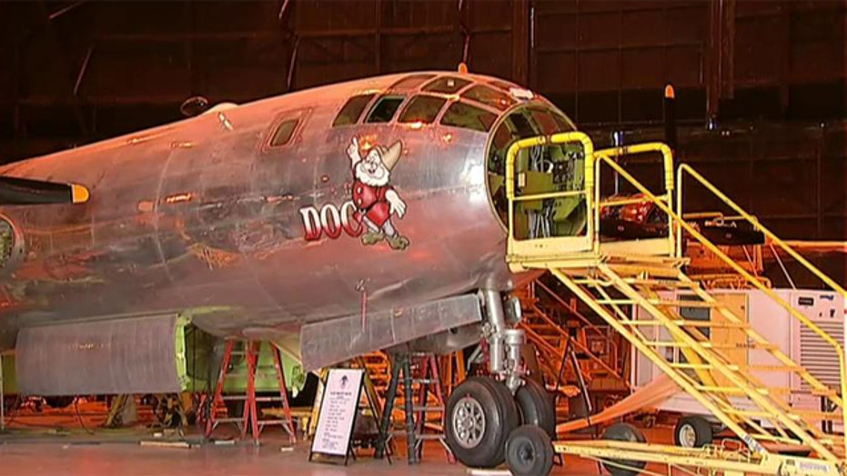 Historic B-29 bomber to hit the skies again