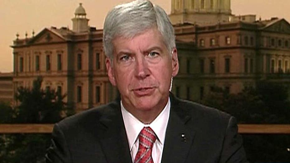 Gov. Snyder on Detroit bankruptcy: 'No other viable options'