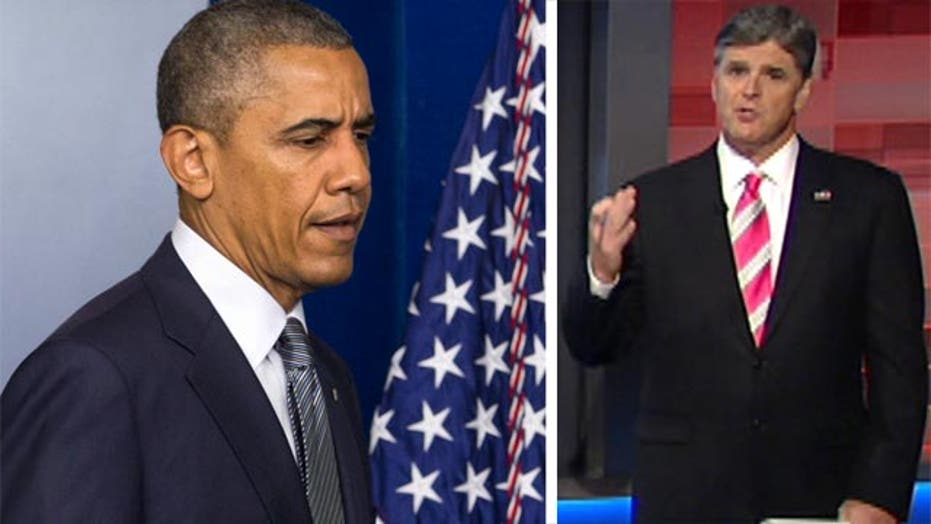Sean Hannity urges Obama to stand up and lead