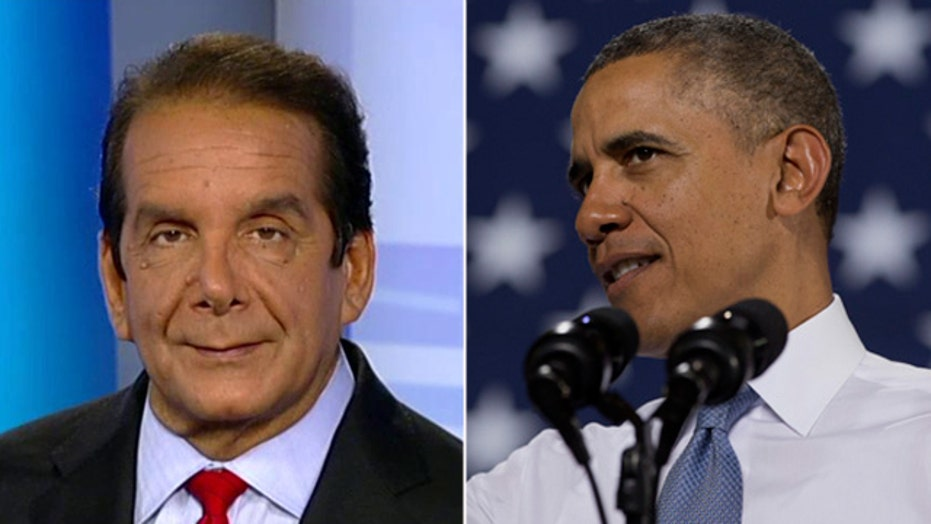 Krauthammer on Obama, fundraiser-in-chief