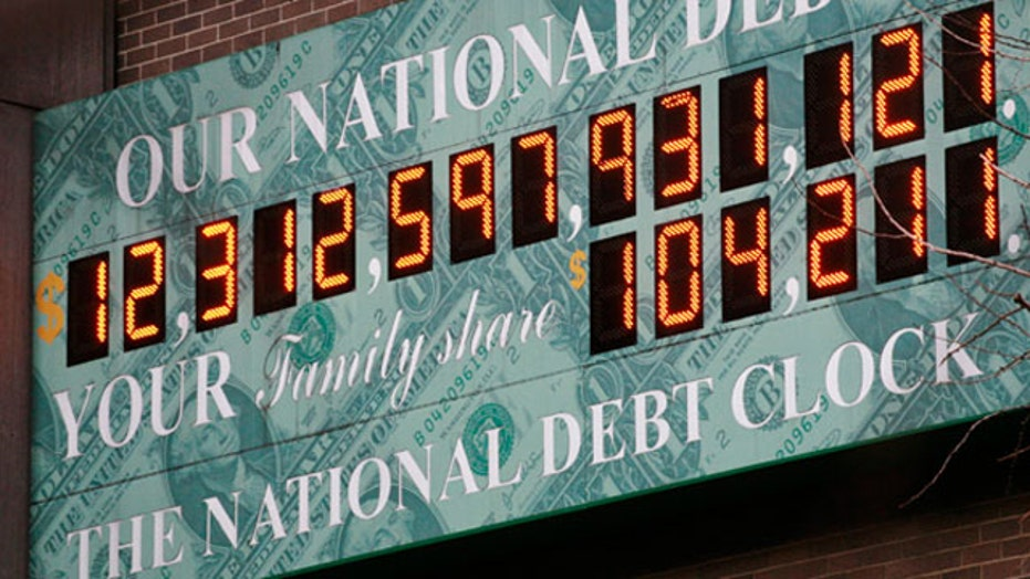 National debt putting national security at risk?