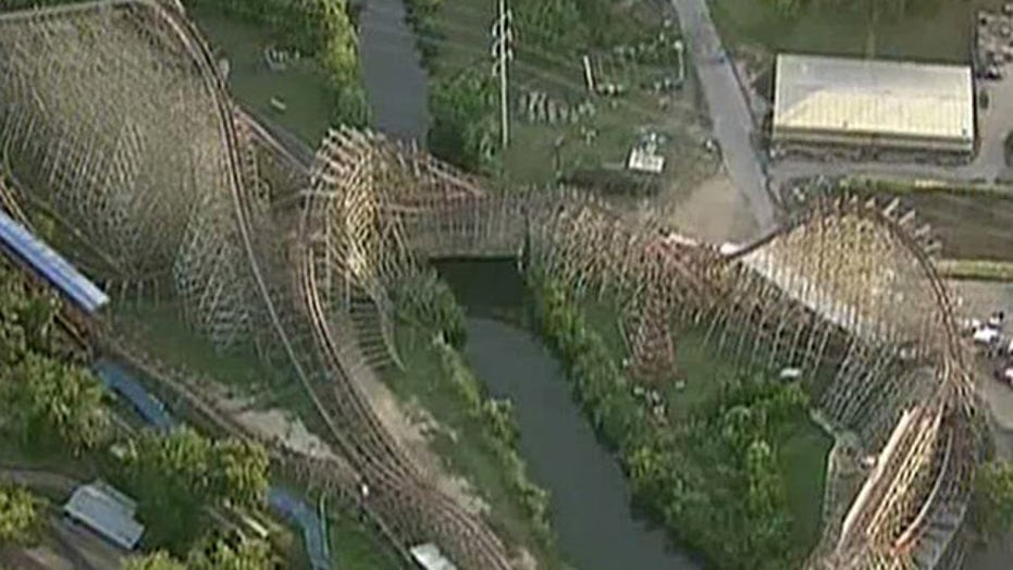 Woman dies after falling off roller coaster