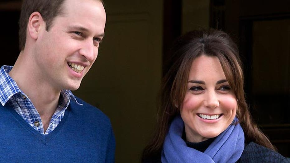 Kate Middleton gives birth to a son