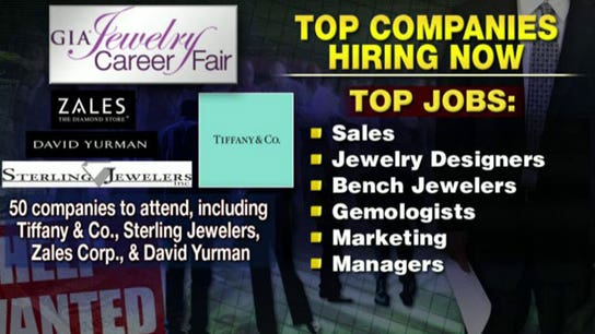 You're Hired! Jewelry, Spa Openings