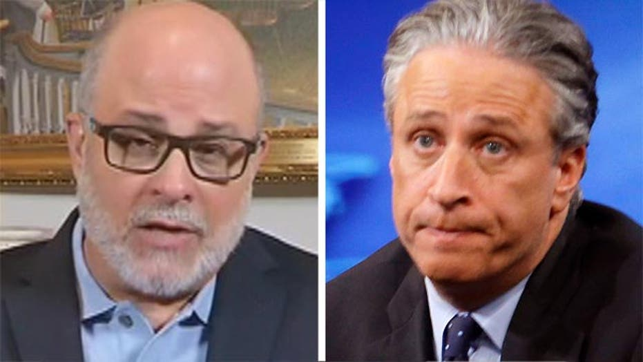 Mark Levin reacts to Jon Stewart's response on Israel