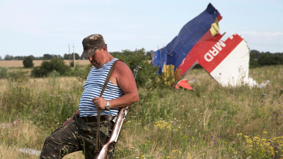 Concerns Russian rebels tampering with MH17 plane wreckage