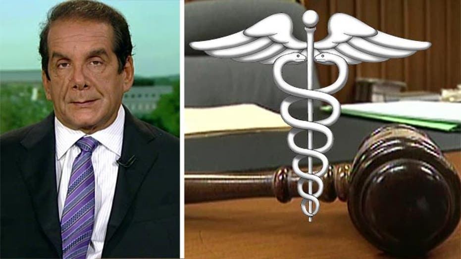 Krauthammer: 'if DC Court is upheld, Obamacare is over'